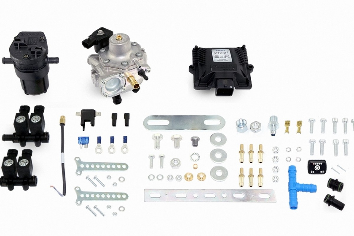 Фото LPG MINI KIT SMART EXR KP FSU (MAP)  4 цилиндра